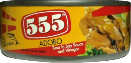 555 TUNA IN SOY SAUCE AND VINEGAR ADOBO STYLE