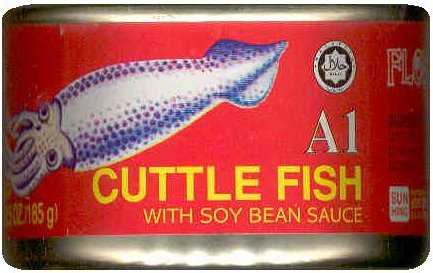 A1 CUTTLE FISH IN SOY BEAN SAUCE
