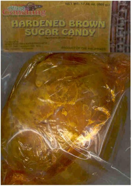 ALING CONCHING HARDEN BROWN SUGAR CANDY