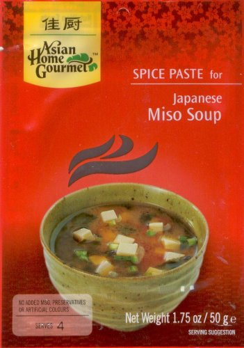 ASIAN HOME GOURMET JAPANESE MISO SOUP PASTE