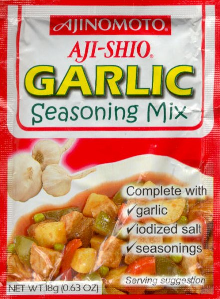 AJI-SHIO GARLIC SEASONING MIX