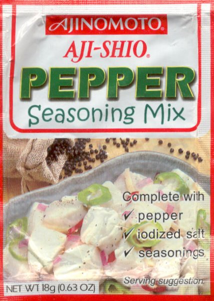 AJI-SHIO PEPPER SEASONING MIX