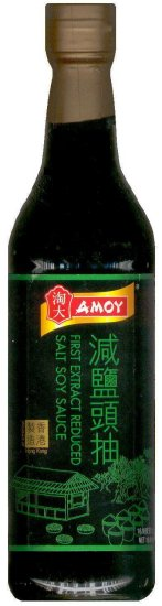 AMOY FIRST EXTRACT REDUCED SALT SOY SAUCE