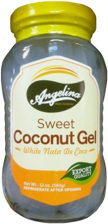 ANGELINA SWEET COCONUT GEL WHITE NATA DE COCO