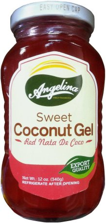 ANGELINA SWEET COCONUT GEL RED NATA DE COCO