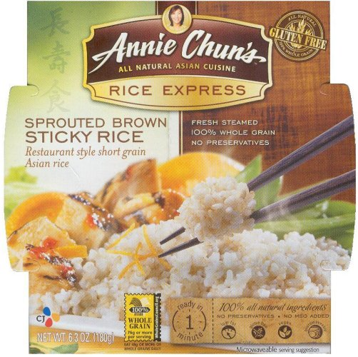 ANNIE CHUN'S RICE EXPRESS SPROUTED BROWN STICKY RICE