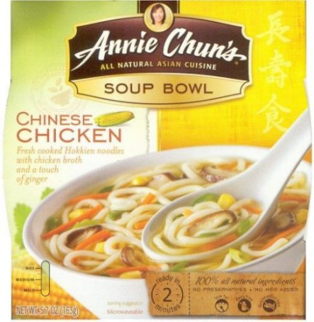 ANNIE CHUN'S CHINESE CHICKEN SOUP BOWL