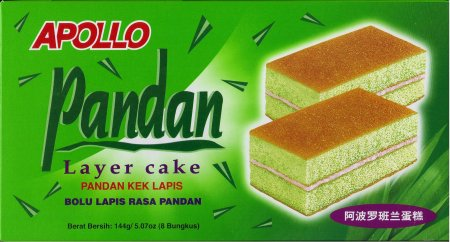 APOLLO PANDAN LAYER CAKE