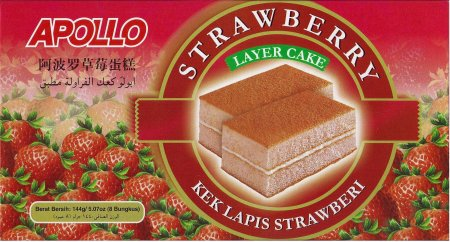 APOLLO STRAWBERRY LAYER CAKE