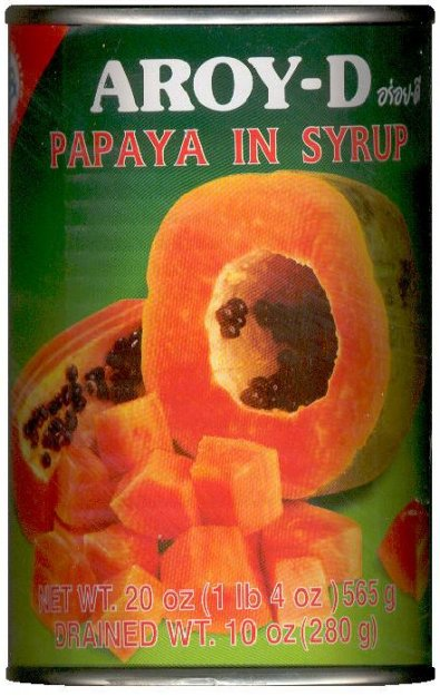 AROY-D PAPAYA IN SYRUP