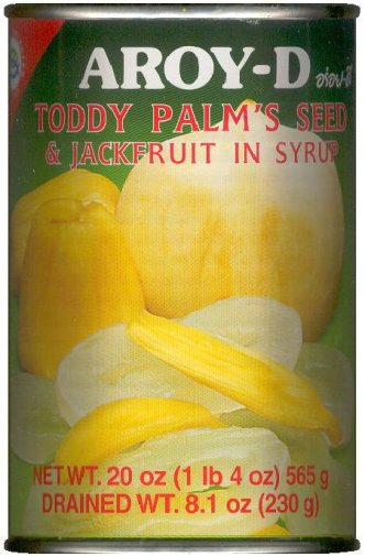 AROY-D TODDY PALM'S SEED & JACKFRUIT IN SYRUP