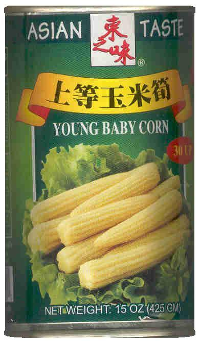 ASIAN TASTE YOUNG BABY CORN