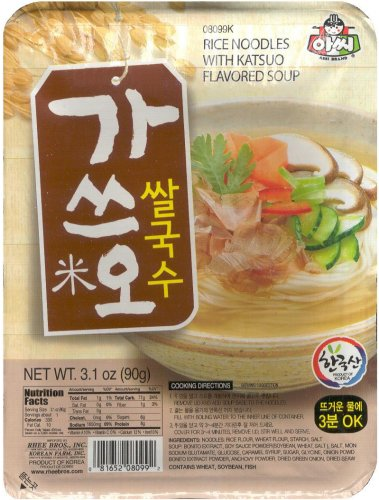 ASSI RICE NOODLES WITH KATSUO FLAVORED SOUP