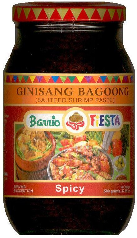 BARRIO FIESTA GINISSANG BAGOONG SAUTEED SHRIMP PASTE SPICY
