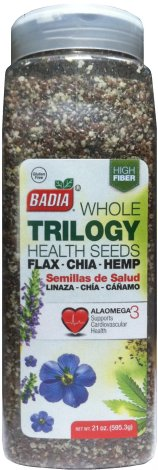 BADIA WHOLE TRILOGY SEEDS FAX-CHIA-HEMP