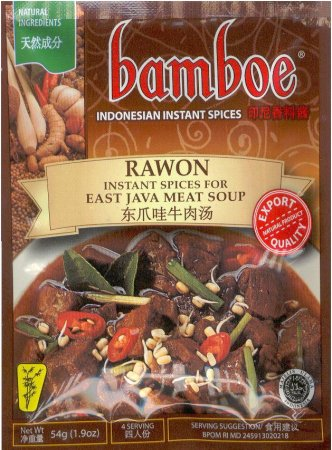 BAMBOE RAWON EAST JAVE MEAT SOUP