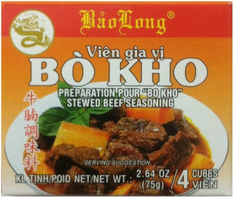 BAO LONG BO KHO BEEF STEW SEASONING