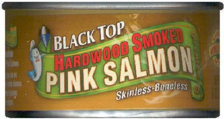BLACK TOP PINK SALMON HARDWOOD SMOKED