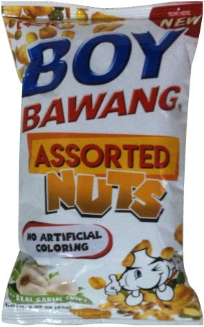 BOY BAWANG ASSORTED NUTS WITH GARLIC CHIPS