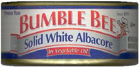 BUMBLE BEE ALBACORE TUNA IN VEGETABLE OIL