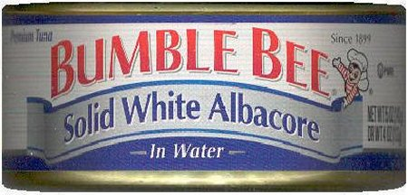 BUMBLE BEE ALBACORE TUNA IN WATER
