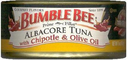BUMBLE BEE ALBACORE TUNA WITH CHIPOTLE & OLIVE OIL