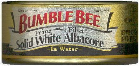 BUMBLE BEE ALBACORE TUNA IN WATER PRIME FILLET