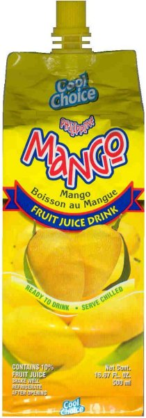 COOL CHOICE MANGO FRUIT JUICE DRINK