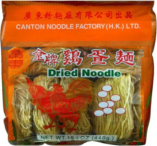 CANTON NOODLE FACTORY DRIED NOODLE THIN ROUND