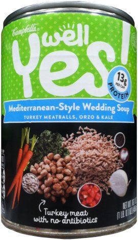 CAMPBELL'S WELL YES! MEDITERRANEAN-STYLE WEDDING SOUP
