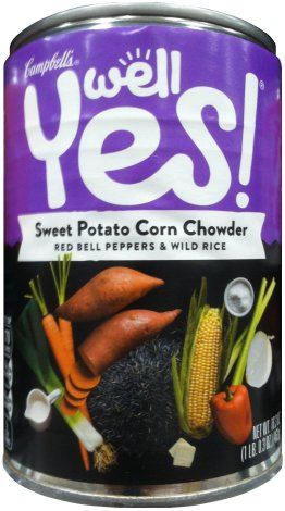 CAMPBELL'S WELL YES! SWEET POTATO CORN CHOWDER
