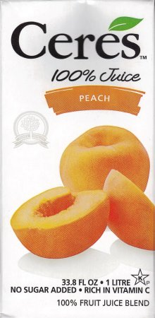 CERES PEACH FRUIT JUICE