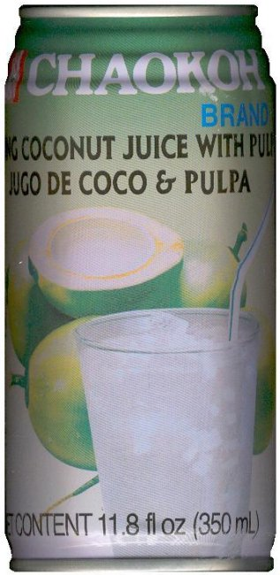 CHAOKOH YOUNG COCONUT JUICE WITH PULP
