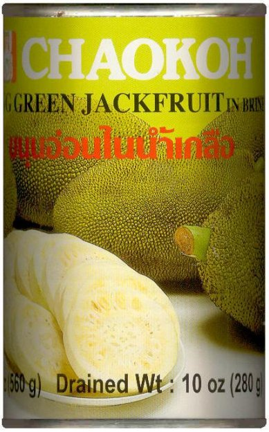 CHAOKOH YOUNG GREEN JACKFRUIT IN BRINE