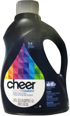CHEER COLOR GUARD LIQUID LAUNDRY DETERGENT