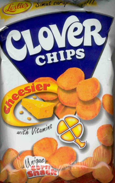 LESLIE'S CLOVER CHIPS CHEESE FLAVOR