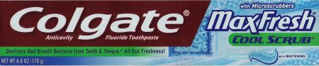 COLGATE MAX FRESH WHITENING TOOTHPASTE WITH MINI BREAT