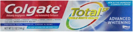 COLGATE TOTAL ADVANCE WHITENING TOOTHPASTE
