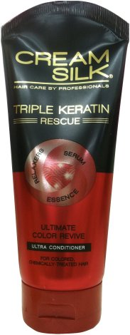 CREAM SILK TRIPLE KERATIN ULTIMATE COLOR REVIVE CONDITIONER
