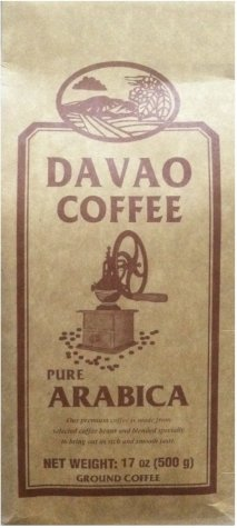 DAVAO COFFEE PURE ARABICA GROUND COFFEE