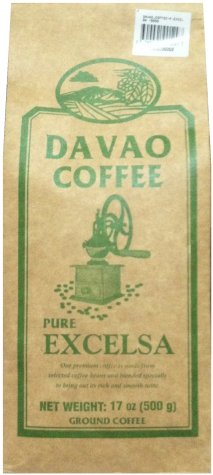 DAVAO COFFEE PURE EXCELSA GROUND COFFEE