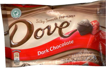 DOVE SILKY SMOOTH PROMISES DARK CHOCOLATE