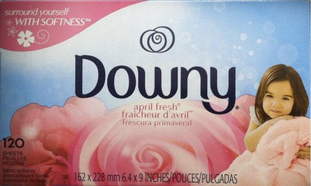 DOWNY APRIL FRESH FABRIC SOFTENER SHEET
