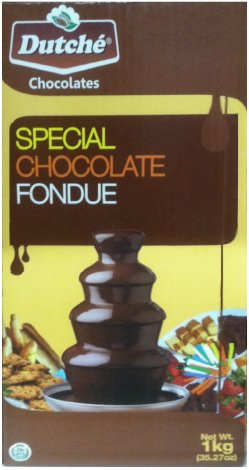 DUTCHE' CHOCOLATES SPECIAL CHOCOLATE FONDUE