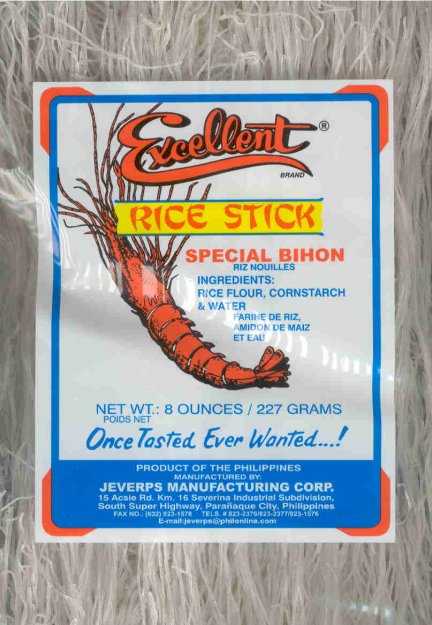 EXCELLENT RICE STICK SPECIAL BIHON
