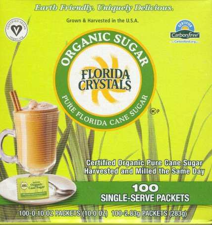 FLORIDA CRYSTALS ORGANIC SUGAR PACKETS