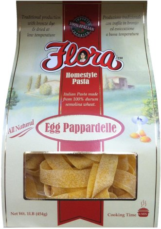 FLORA HOMESTYLE PASTA EGG PAPPARDELLE