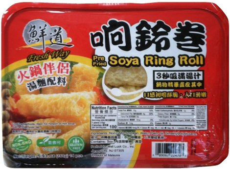 FRESH WAY PRE FRIED SOYA RING ROLL