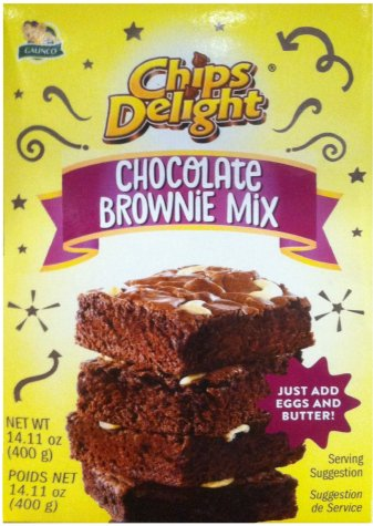 GALINCO CHIPS DELIGHT CHOCOLATE BROWNIE MIX