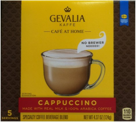 GEVALIA KAFFE CAFE' AT HOME CAPPUCCINO